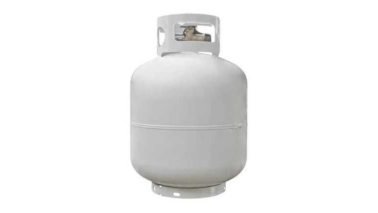 Picture of a 20lb Propane Tank