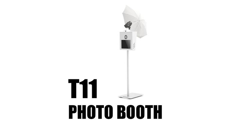 Picture of a *Photo Booth T11 - Complete Photo Booth Package
