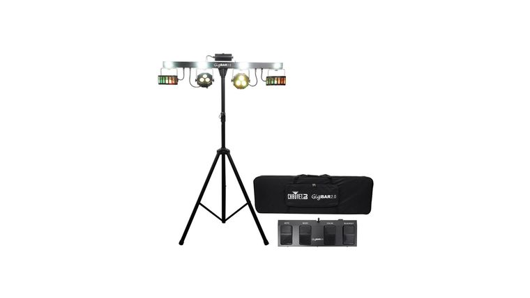 Picture of a Chauvet Gig Bar 2.0 Lighting System + Foot Remote + Tripod + Bag