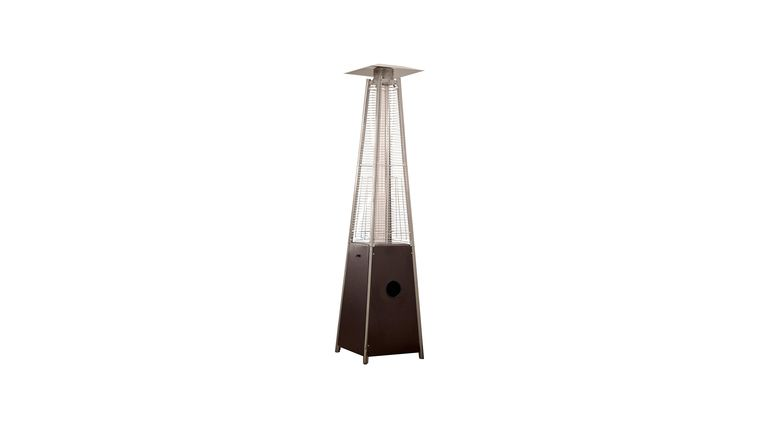 Picture of a Bronze Portable Heater Pyramid 87 inch