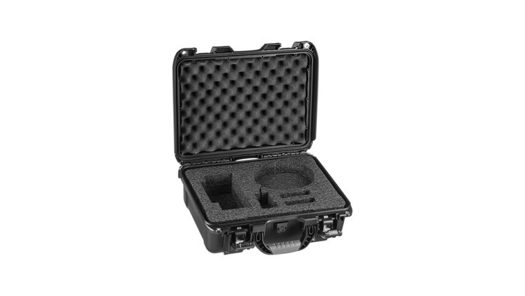 Picture of a DSan Perfect Cue Professional Presentation Advancing System Hard Case