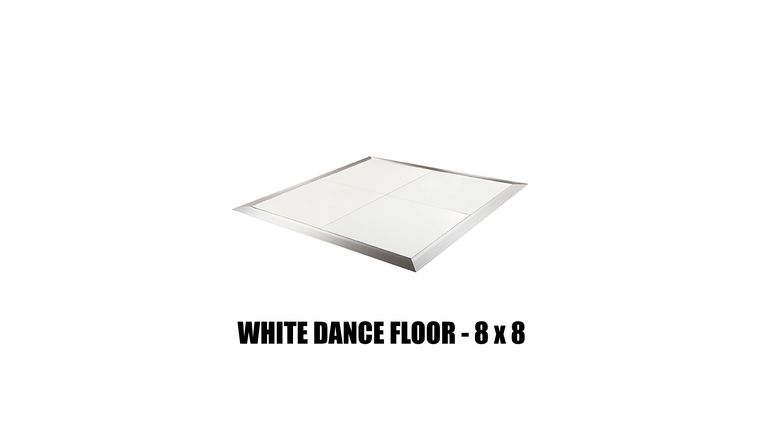 Picture of a *White Dance Floor -  8x8