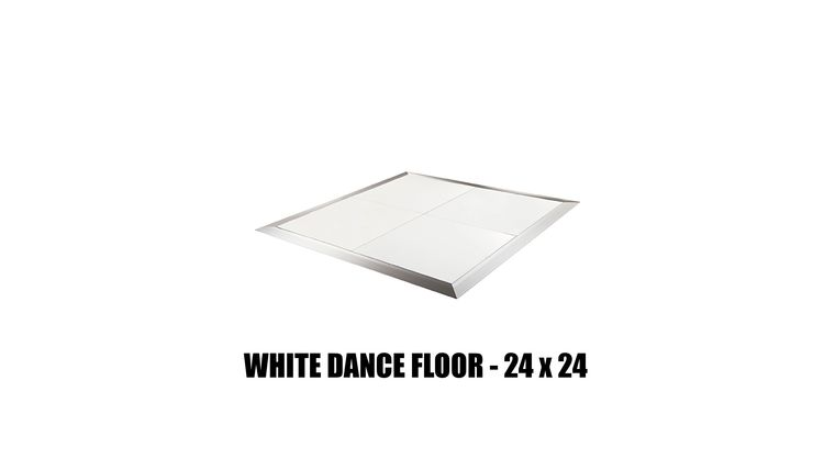 Picture of a *White Dance Floor - 24x24