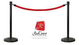 Image of a 6' Red Velvet Ropes