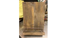 Image of a Aged Wooden Cook Book Stand