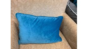 Image of a Blue Accent Pillow