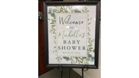 Image of a custom printed sign