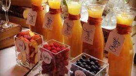 Image of a mimosa bar