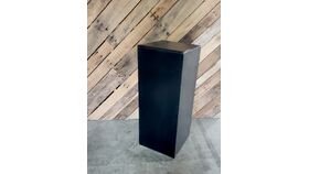 "Image of a 30"" Deco Plinth - Black"