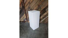 """30"""" Deco Plinth - White image"""