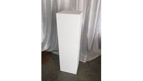 "Image of a 40"" Deco Plinth - White"