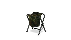 Image of a Aluminum Chair w/ Camo Canvas