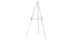 Image of a Easel-Silver Metal