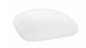 Image of a Chameleon Chair Cushion Cap-White Velvet