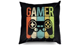 """Image of a Black """"Gamer"""" Pillowcases"""