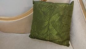 Image of a Brown & Green Leaves Pillows