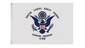 Image of a 3' x 5' United States Coast Guard Flags