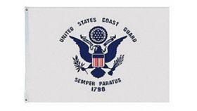 Image of a 3' x 5' United States Coast Guard Flags