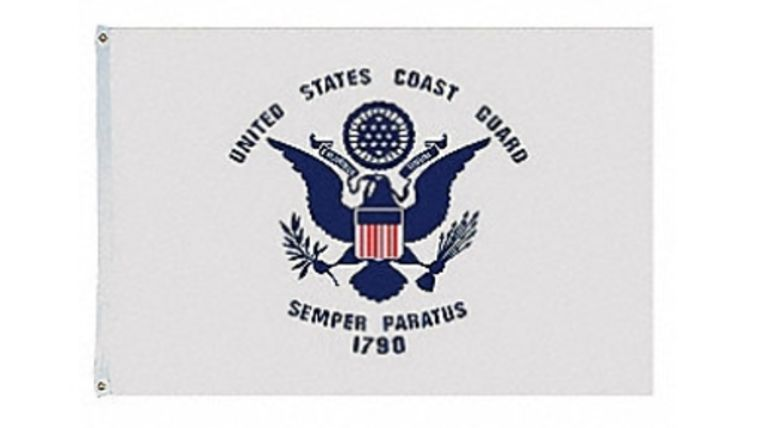 Picture of a 3' x 5' United States Coast Guard Flags
