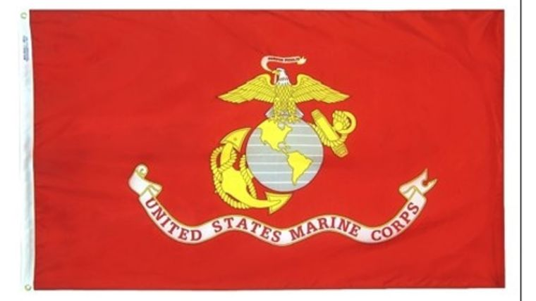 Picture of a 3' x 5' United States Marines Flags