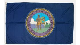 Image of a 3' x 5' Chickasaw Nation Flags