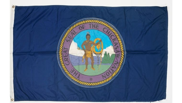 Picture of a 3' x 5' Chickasaw Nation Flags