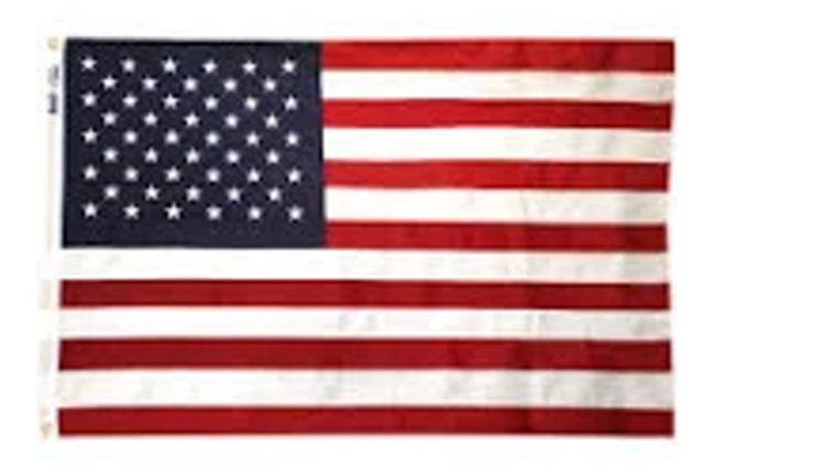 Picture of a 3' x 5' United States of America Flags