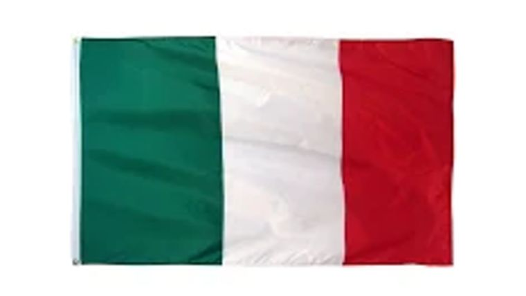 Picture of a 3' x 5' Italy Flags