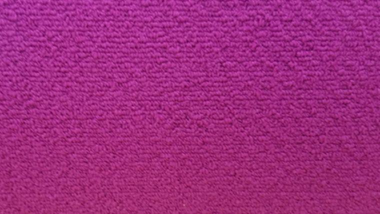 Picture of a 2' x 2' Fuchsia Carpet Square