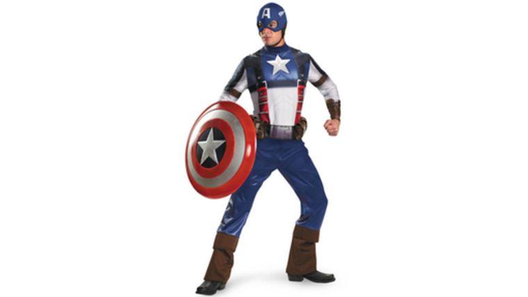 Picture of a Captain America Costume