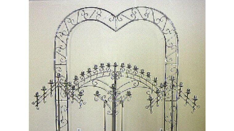 Picture of a Silver Arch