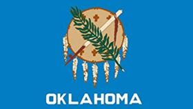 Image of a 3' x 5' Oklahoma Flags