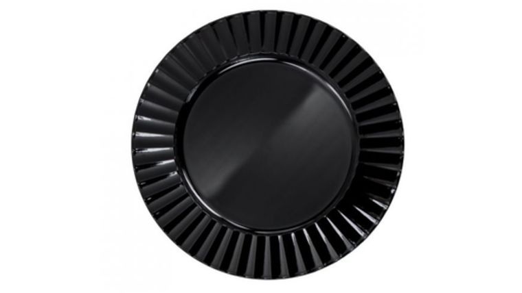 Picture of a Black Lacquer Charger - Plank