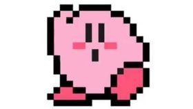 Image of a Bistro Tables - Top - 8-Bit Kirby