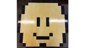Image of a Bistro Tables - Top - 8-Bit Mario Cloud