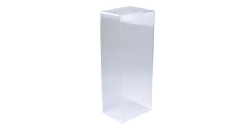 "Picture of a 36"" x 12"" x 12"" Clear Acrylic Pedestal"