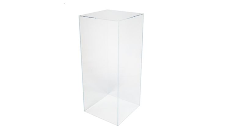 """Picture of a 36"""" x 16"""" x 16"""" Clear Acrylic Pedestal"""