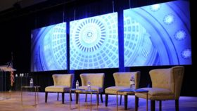 Image of a 8' x 8' Capitol Dome Backdrop (Stage Right) Backdrops