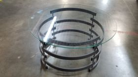 Image of a Silver Metal Coffee Tables