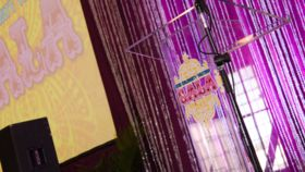 """48"""" Clear Acrylic Lectern image"""