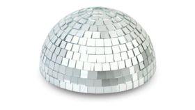 """Image of a Disco Ball Half - 12"""""""
