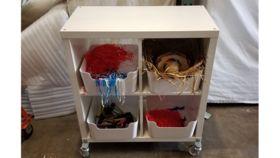 Image of a Photobooth Prop Shelf