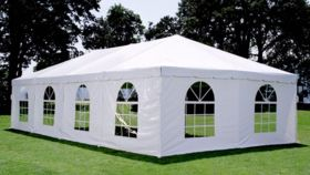 Image of a 8' x 20' Cathedral (Windows) Sidewalls