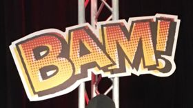 "Image of a ""Bam!"" Sign"