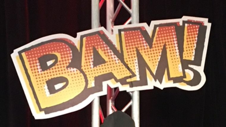 "Picture of a ""Bam!"" Sign"