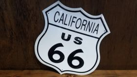 """California Route 66"" Sign image"