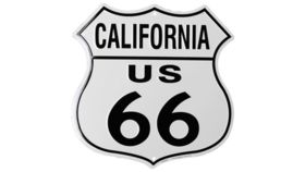 "Image of a ""California Route 66"" Sign"