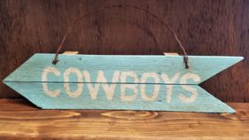 "Image of a ""Cowboys"" Sign"