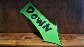 "Image of a ""Down"" Sign"