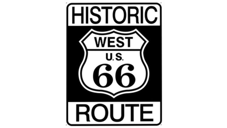 "Picture of a ""Historic Route 66"" Sign"